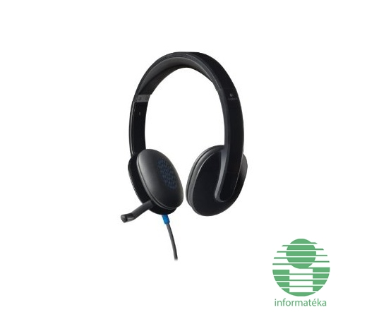 Logitech H540 USB vezetékes headset Fej-és fülhallgató Headset ... f8f73419c4