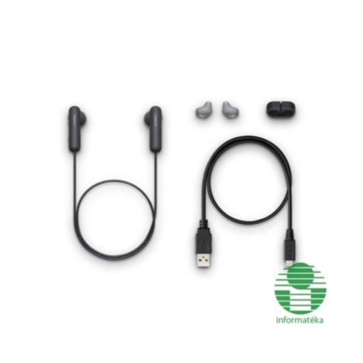 Sony WI-SP500 Bluetooth fülhallgató fekete  WISP500B.CE7  Fej-és fülhallgató  ... 9c9b5460b3