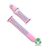 Cellect  CEL-STRAP-APW38-PM Apple Watch 38 mm rózsaszín/menta szilikon óraszíj CEL-STRAP-APW38-PM kép, fotó